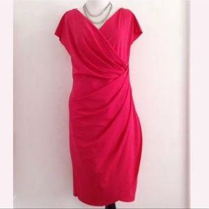 NWT Antonio Melani midi Pink dress size M